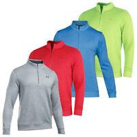 Under Armour Mens UA Storm Sweater Fleece 1/4 Zip  Pullover Jumper 42% OFF RRP