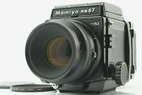 【N MINT+++】 Mamiya RB67 Pro SD + K/L KL 127mm f3.5 Lens + 120 Film Back JAPAN