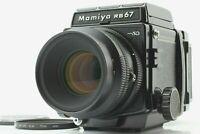 【N MINT+++】 Mamiya RB67 Pro SD + K/L KL 127mm f3.5 Lens + 120 Film Back JAPAN