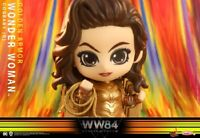 Hot Toys COSBABY COSB727 Wonder Woman Golden Armor Bubble Head Figure Model Toys