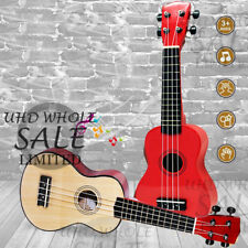 16'' UKULELE MINI ACOUSTIC SOPRANO GUITAR 4-STRING MUSICAL INSTRUMENT BASSWOOD