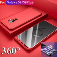 360° CUSTODIA COVER FULL CASE per Samsung S7 Edge S8 S9 + Pellicola protettiva