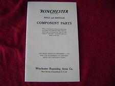 Vintage *1920 Winchester Rifle/Shotgun Parts Catalog-Reprint In Excellent Cond