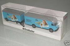 """Wiking 1:87  MB LP 312 Koffer-Lastzug """"Krombacher"""" OVP(EH4270)"""
