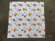 "Sesame Street Confetti Balloon Fabric Fat Quarter  19"" x 19"""