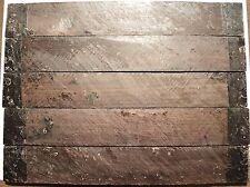 "knife Scales AFRICAN BLACKWOOD Slab Pistol Grips Handles Crafts Wood 10 1/2"""