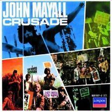 JOHN MAYALL & THE BLUESBREAKERS - CRUSADE  CD  22 TRACKS BLUES ROCK & POP  NEU