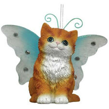 Red Scottish Fold Wings Ornament