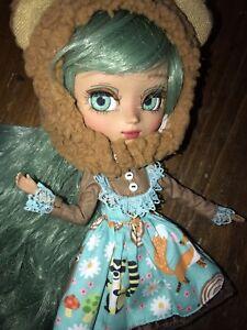 Pullip Mocha Mio Kit Custom Doll Forest Bear