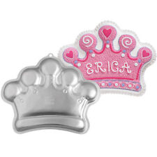 Princess Crown Cake Pan from Wilton 1015 NEW
