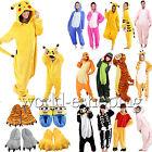Kids Adults Cartoon Onesie Kigurumi Pajamas Sleepwear Slippers Cosplay Costume