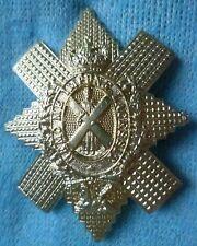 Badge Royal Highlanders Black Watch Cap Badge QC WM 2 Lugs