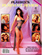 PLAYBOY'S PLAYMATE REVIEW 1985,1987,1988,1989,1990,1991,1992,1994,1995 lot of 9