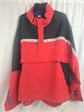 Vintage 90s TOMMY HILFIGER Anorak Windbreaker Sailing Jacket MENS size XXL Red