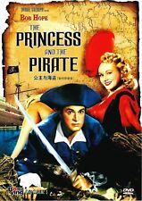 """New DVD """" The Princess And The Pirate """" Bob Hope, Virginia Mayo, Walter Brennan"""