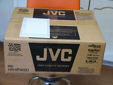 New Jvc Hr-Vp412U Vhs Player Video Cassette Recorder 4 Head Vcr