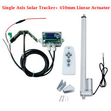 1KW Solar Tracker Solar Tracking System Single Axis Complete Kit Sunlight Track
