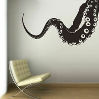Wall Decal Vinyl Sticker Octopus Sprut Poulpe Delfish Tentacles Corner Z3008