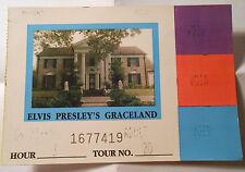 Elvis Presley Graceland Ticket Eintrittskarte 90er Jahre