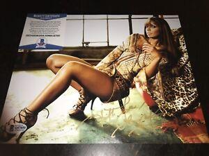 Mya Harrison Signed 8x10 Photo Beckett BAS COA Sexy Autograph R&B Singer Model
