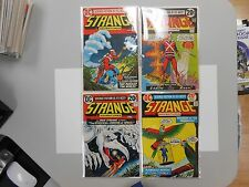 Strange Adventures lot of 4! 241-244! Fine 5.5- to FN 6.5+! Bronze age DC!