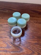 5 Baby Bullet Food Storage Jars with Lids Replacement Spare Container