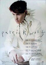 WOLF, PATRICK - 2013 - Tourplakat - In Concert - Lupercalia - Tourposter