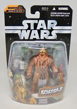 "New Hasbro Star Wars Ep. III Greatest Battles 3.75"" Wookie Warrior Figure Sealed"