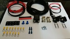 100Amp Split Charge Relay and Fitting Kit 5M Long - Auto Charge Leisure Battery%