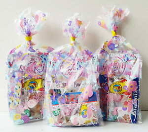 UNICORN PRE FILLED GIRLS PARTY BAGS LOOT BAGS FOR ANY OCCASION