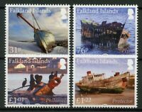 Falkland Islands Ships Stamps 2019 MNH Wrecks Shipwrecks Pt III Boats 4v Set