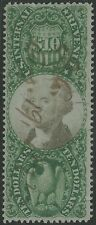#R149 VF+ 3RD ISSUE DOC STAMPS $10 CV $400 BS3376