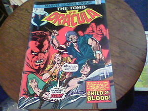 The Tomb of Dracula # 31 Apr 1975 Marvel  edf7