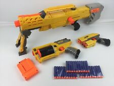 Nerf N-Strike Bundle ~ Longshot CS-6 + Maverick Rev-6 + Scout 1x-3 + 30x Ammo(3)