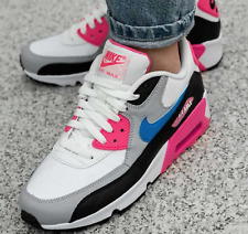Nike Air Max 90 LTR (GS) Youth Trainers UK 4-6 EU 36-39 833376-107