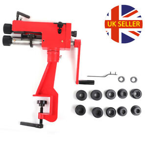 Bead Roller Former Swager Rotary Swaging Machine Bench Clip Metal Sheet Tool UK
