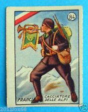 figurines cromos figurine v.a.v. vav 84 la guerra nostra francia cacciatore alpi