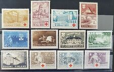 Stamps of Finland 12 pieces ( Clean postage stamps )