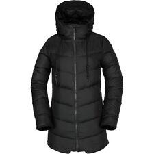 e83e87f8271 2019 NWT WOMENS VOLCOM STRUCTURE DOWN JACKET $220 S black snowjacket pockets