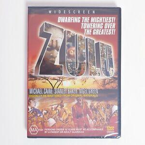Zulu DVD Movie Region 4 AUS Free Postage - Action War True Story Factory Sealed