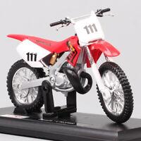 Maisto 1/18 Honda CR250R CR Motocross No.111 scale model Diecast Toy dirt bike