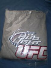 Bud Light UFC mint never worn Large size hoodie grey - great gift