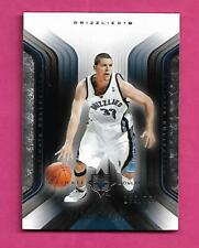 2004 ULTIMATE BASKETBALL GRIZZLIES MIKE MILLER 195/750  CARD (INV# C3408)