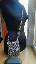 Travelon Purse Shoulder Crossbody Waist Pack Organizer Leopard Design  EUC