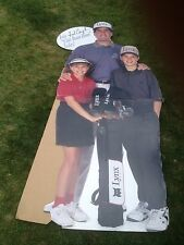 FRED COUPLES Life-size Advertisement 6' Tall PGA Golf LYNX Club Boom ⛳️ FREE S/H
