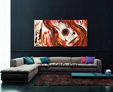 "GUITAR PAINTING on Canvas ""Tunes Like Fire"" Acrylic Original Wall Art, Nandita"