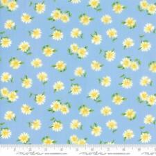 Moda WILDFLOWERS BASICS Light Blue 32365 16 Fabric By The Yard Sentimental Stud