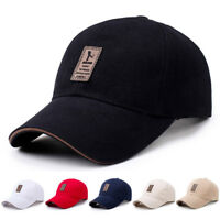 Men's Adjustable Baseball Cap Summer Casual Hats Boy Snapback Hip Pop Caps