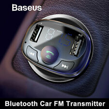Baseus Bluetooth Car USB Charger FM Transmitter Wireless MP3 Radio Adapter 3.4A
