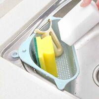 Useful Suction Cup Sink Shelf Soap Sponge Rack Kitchen Sucker Storage Tool